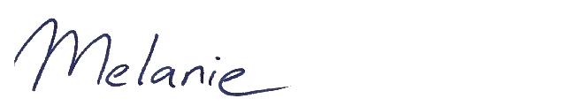 handtekening melanie weidner